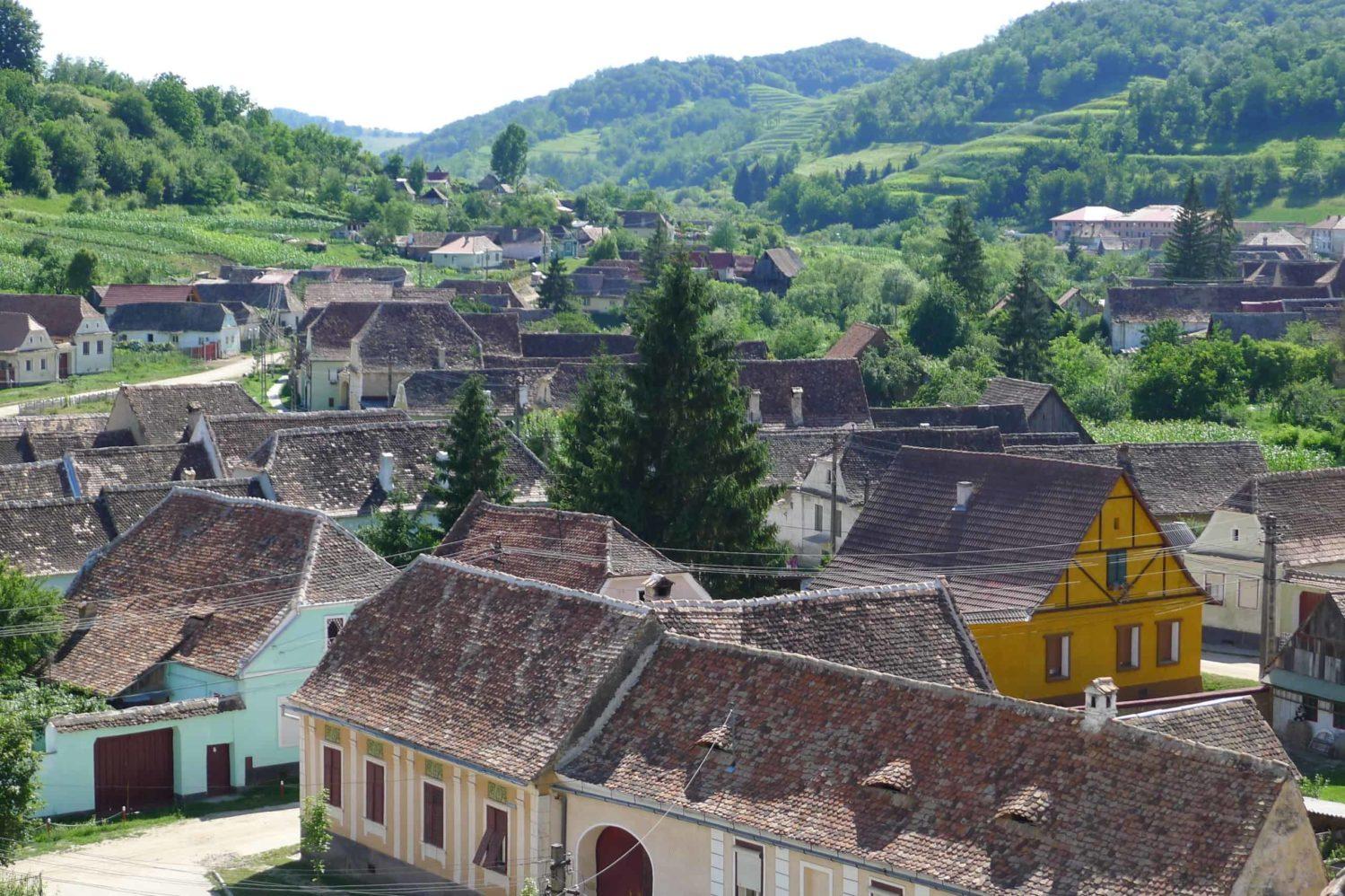 Wieś Biertan, Transylwania