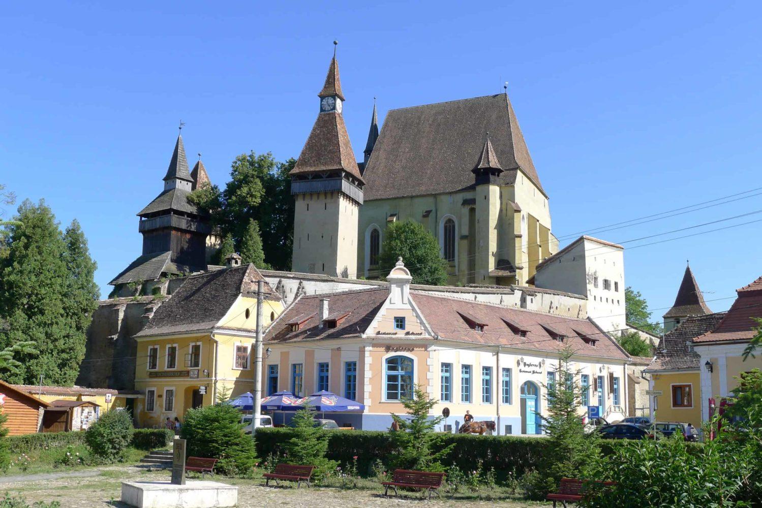 Kościół w Biertan, Transylwania