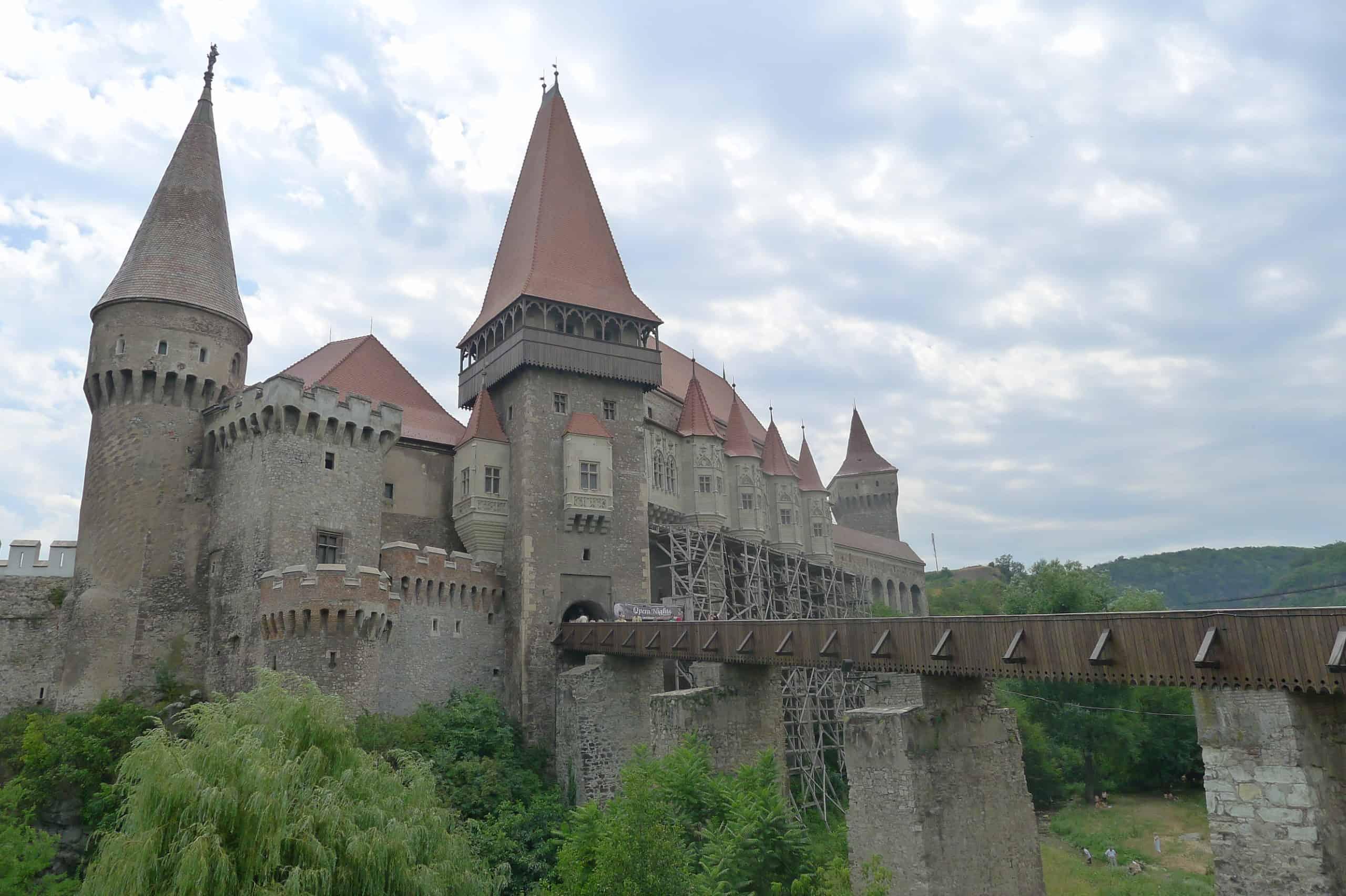 Zamek w Hunedoarze Transylwania