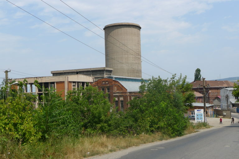 Resztki dawnej fabryki