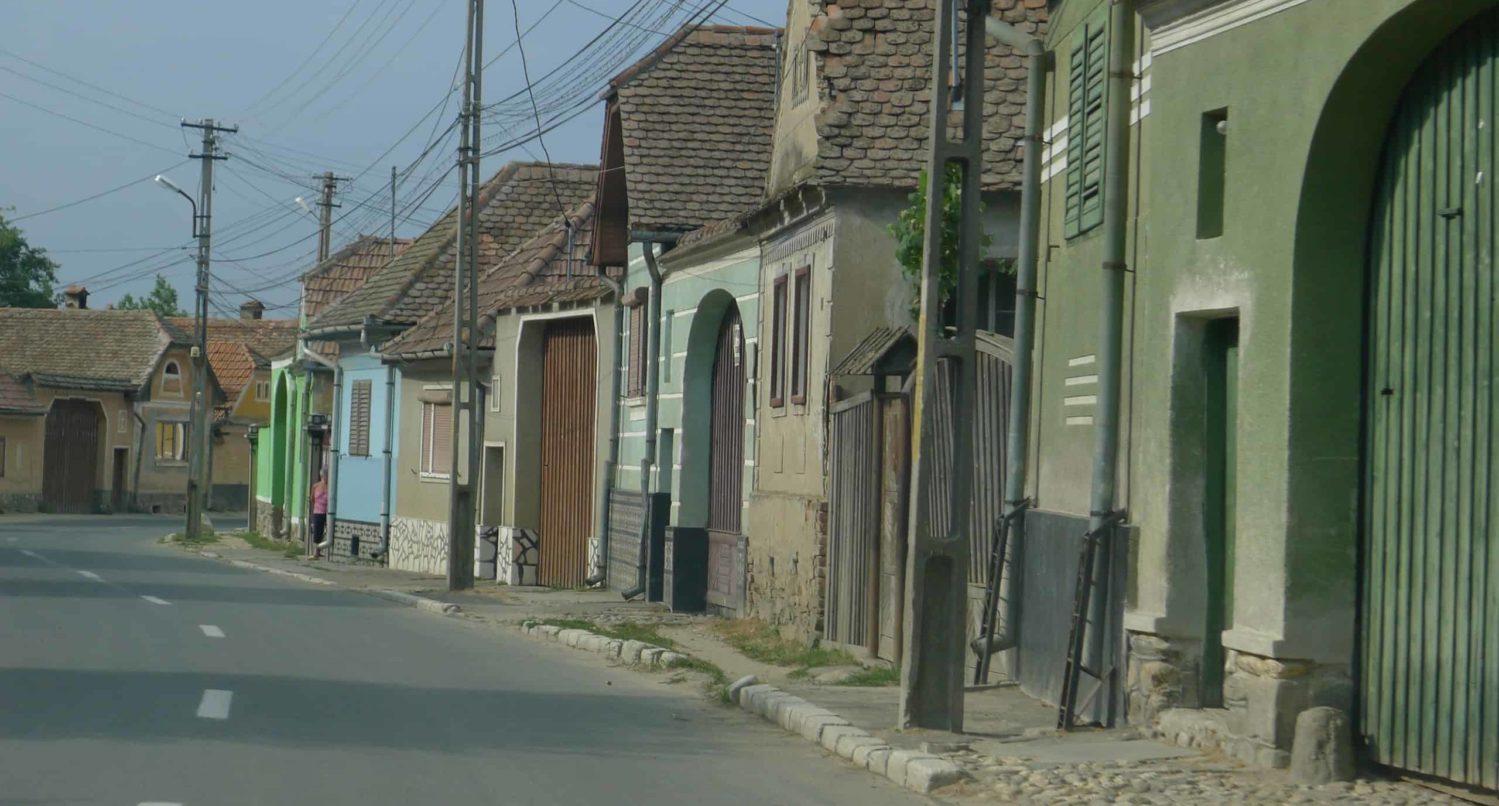 wieś gdzieś w Transylwanii