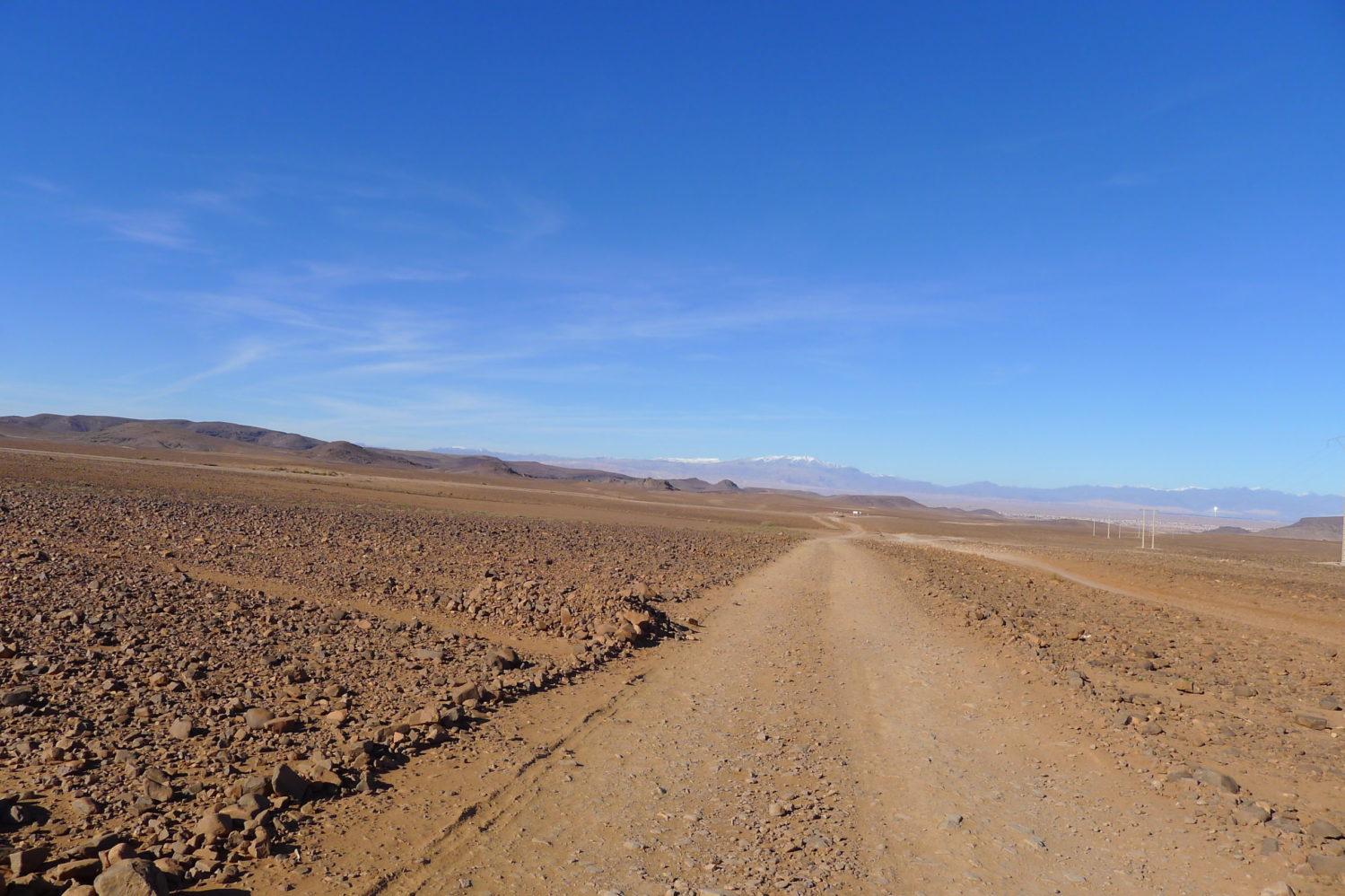 Bezkresna hamada, Południowe Maroko