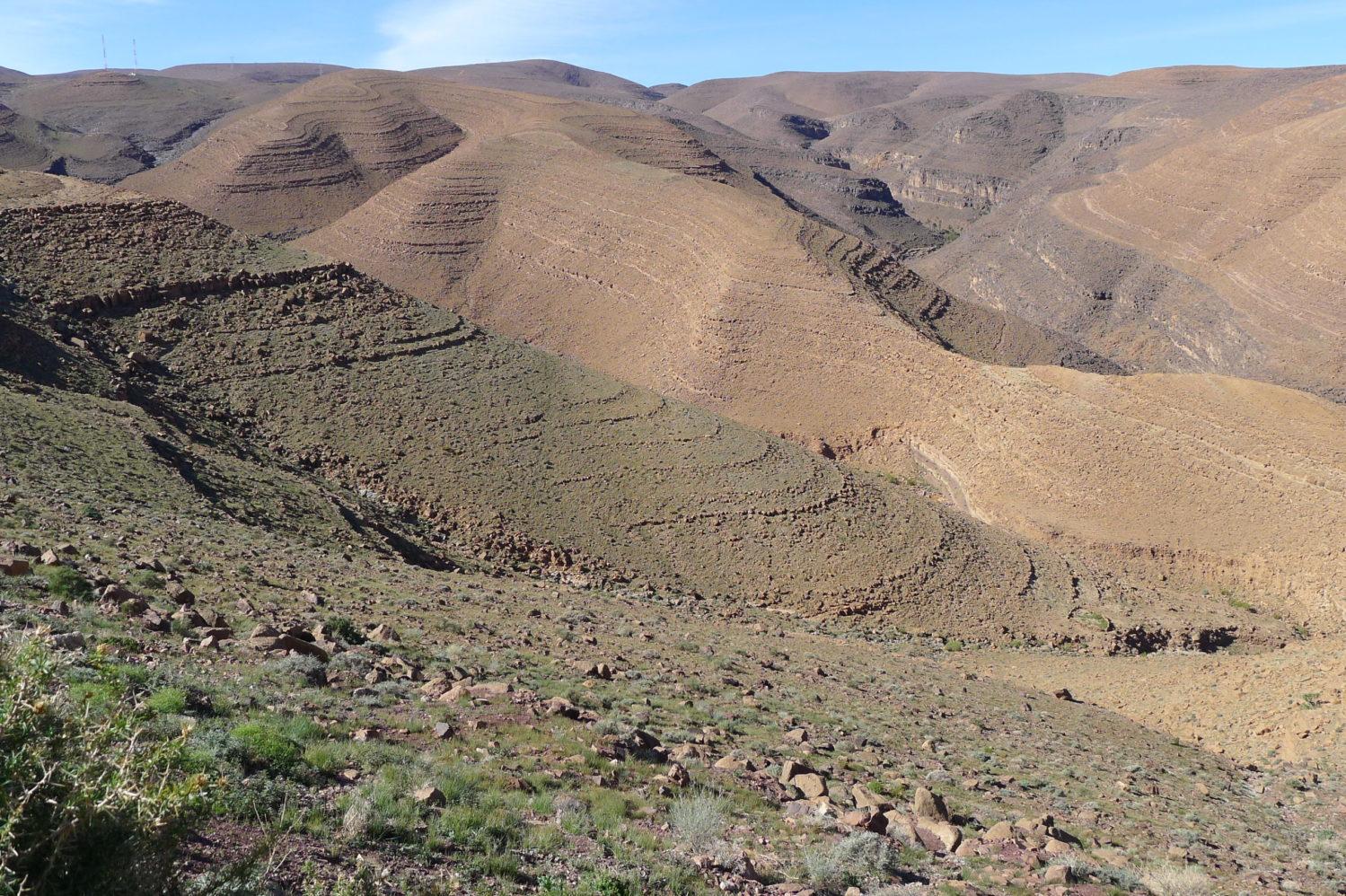 Pustynne góry, Południowe Maroko