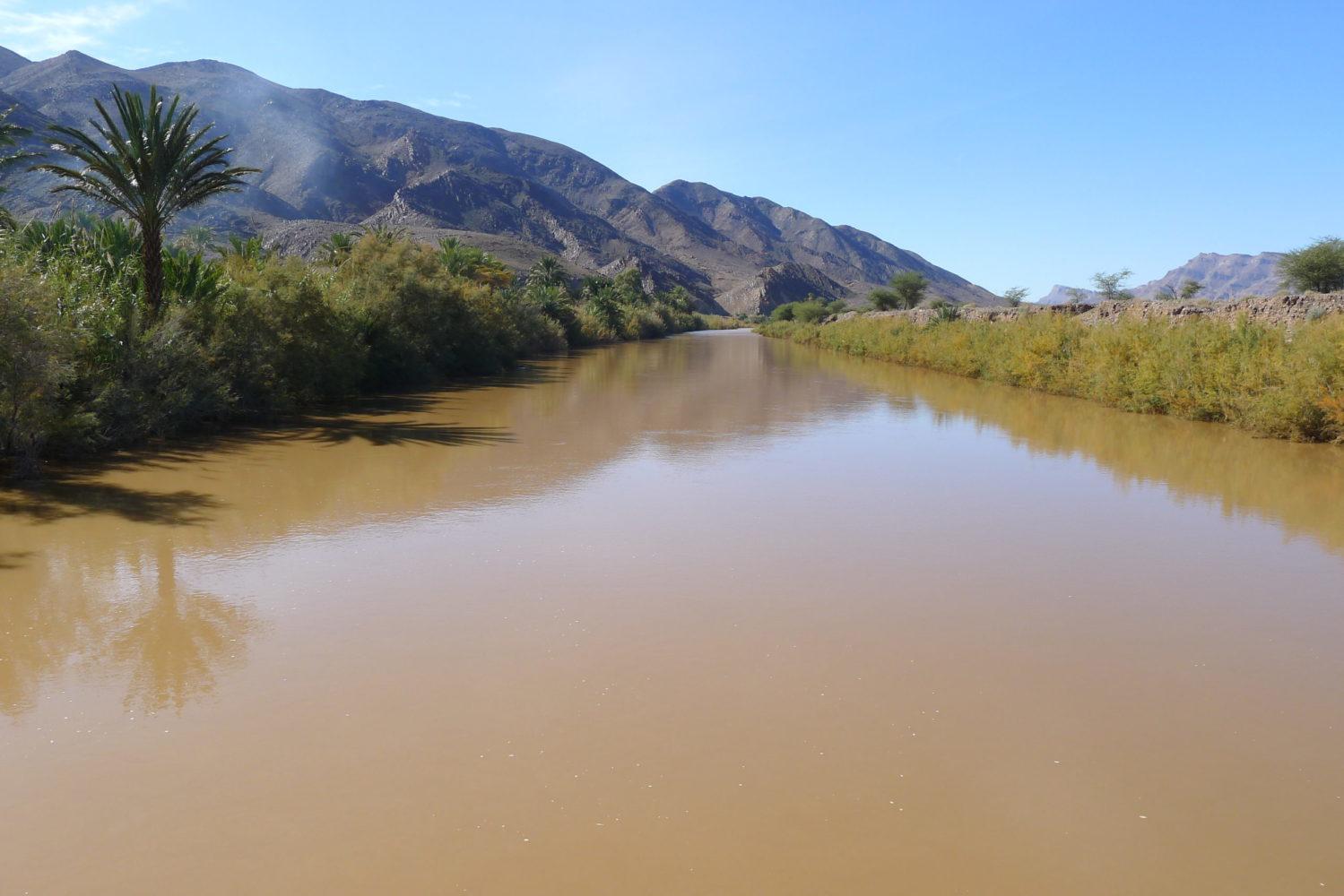 Rzeka Dra, Południowe Maroko