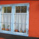 Charaterystyczne okiennice na Bornholmie