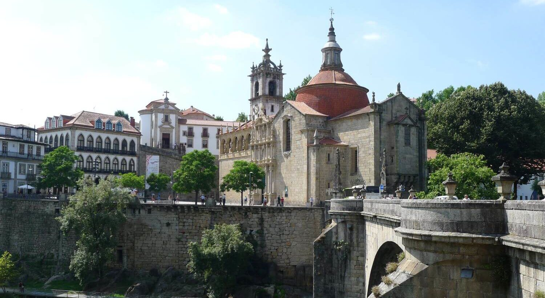 Urocze miasteczko Amarante, Portugalia