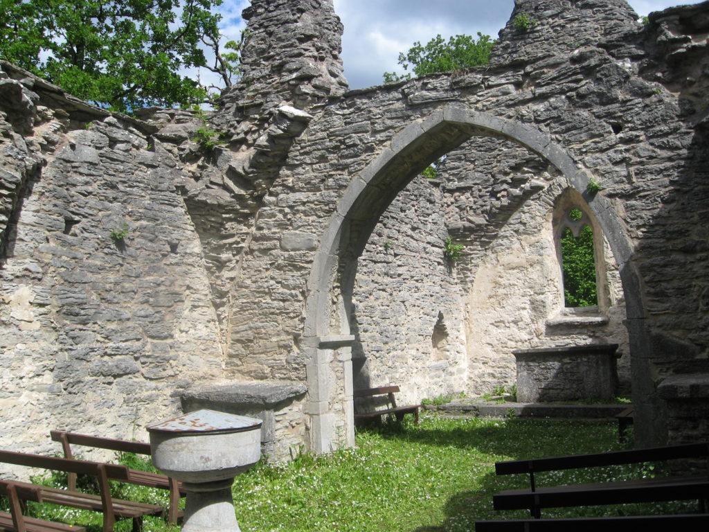 Ruiny kościoła Gotlandia