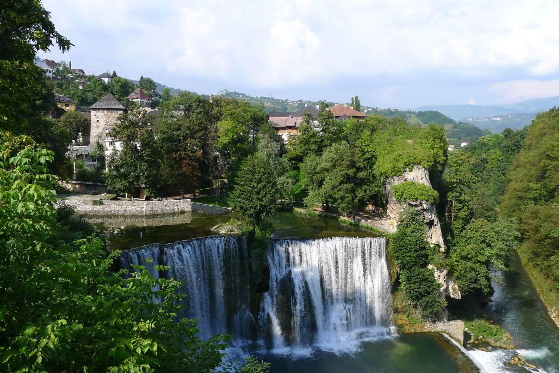 Wodospad w Jajce, Bośnia