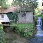 Młynówki we wsi Martin Brod w Bośni