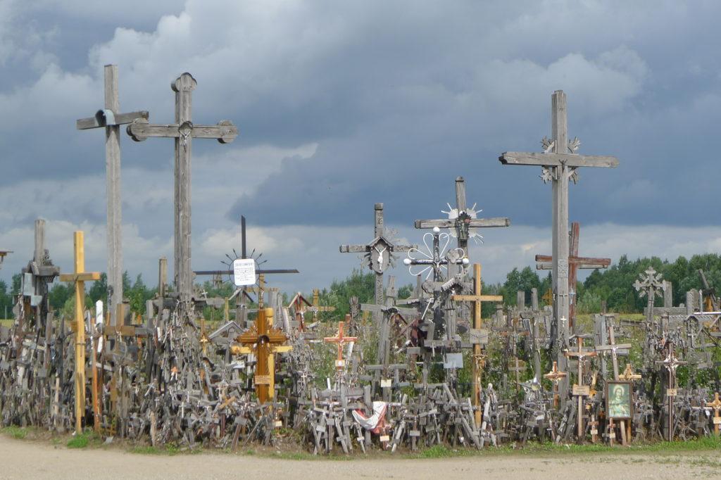 Krzyże - duże i małe, Góra Krzyży Litwa