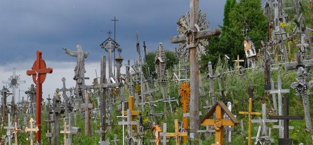 Gąszcz krzyży, Góra Krzyży, Litwa