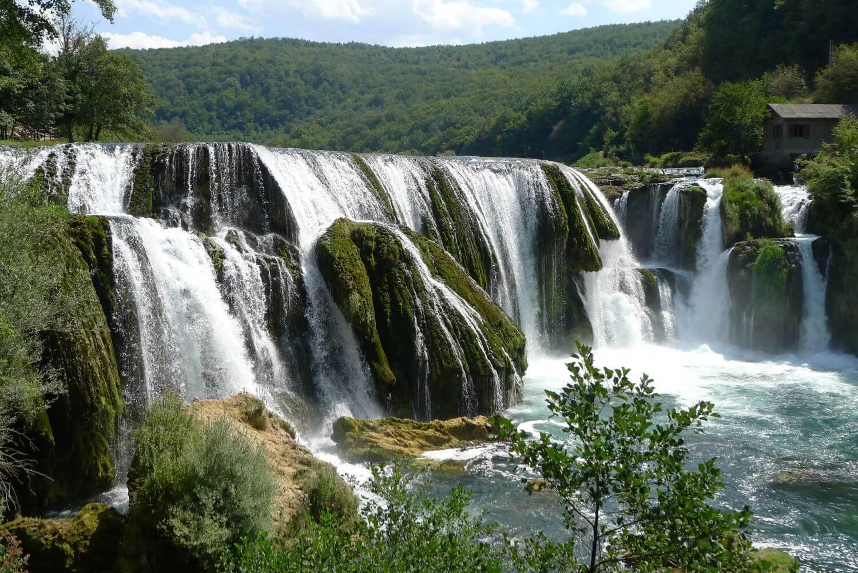 Srtrbacki Buk, wodospady na rzece Una, Bośnia