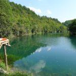 Kąpielsko nad rzeką Una, Bośnia