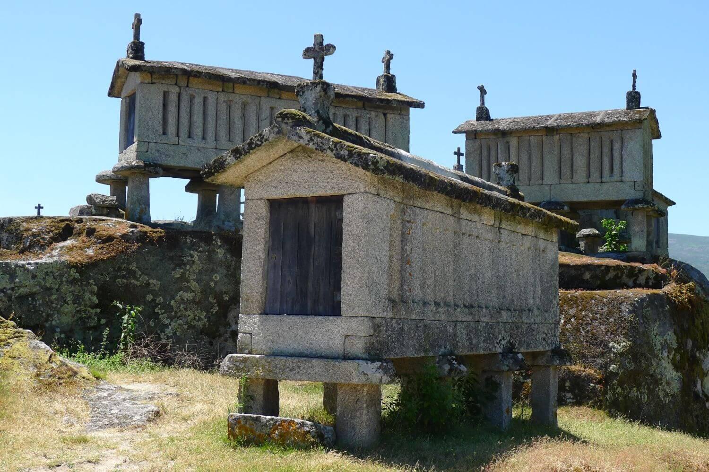 Kamienne spichlerze Minho Portugalia