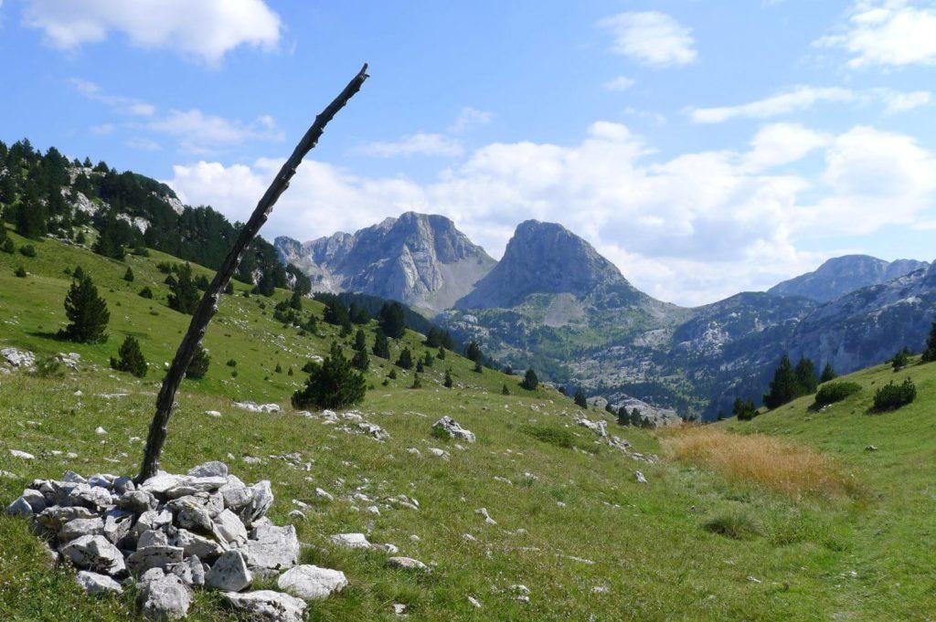 Hale w masywie Prenj Bośnia