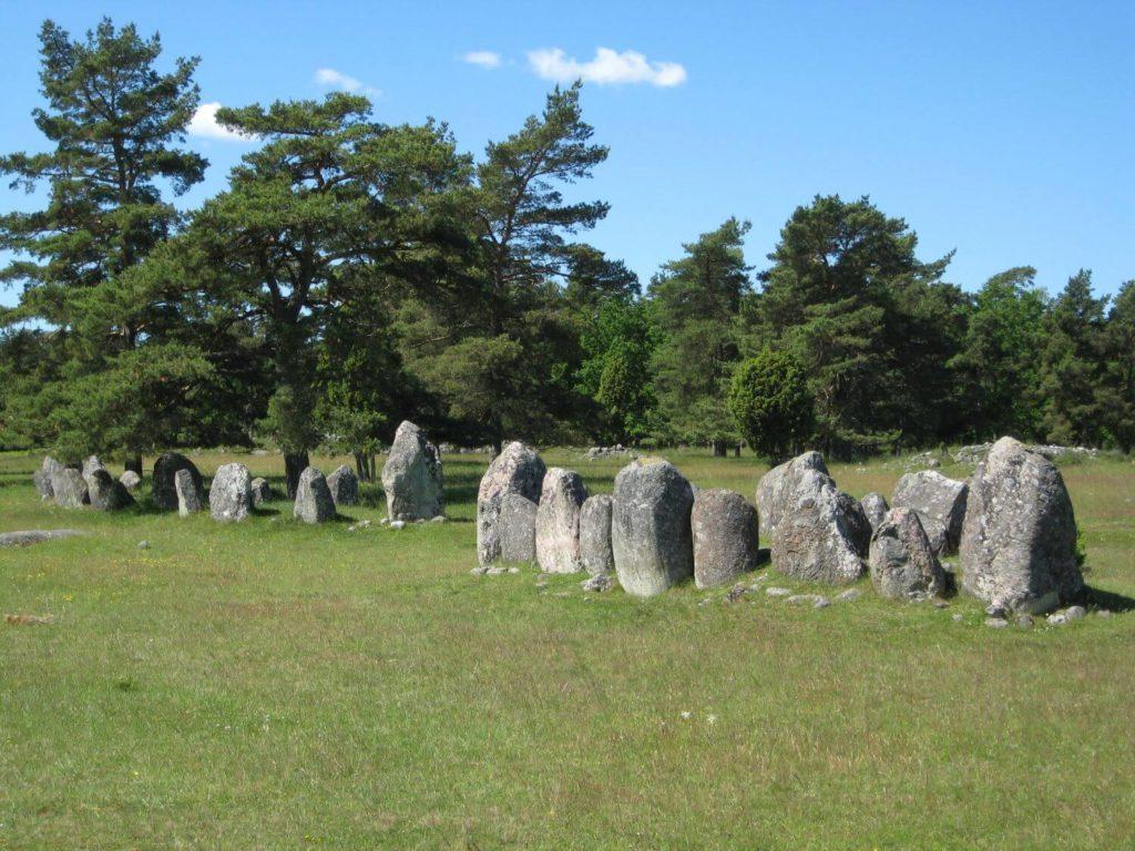 Kamienny krąg Gotlandia