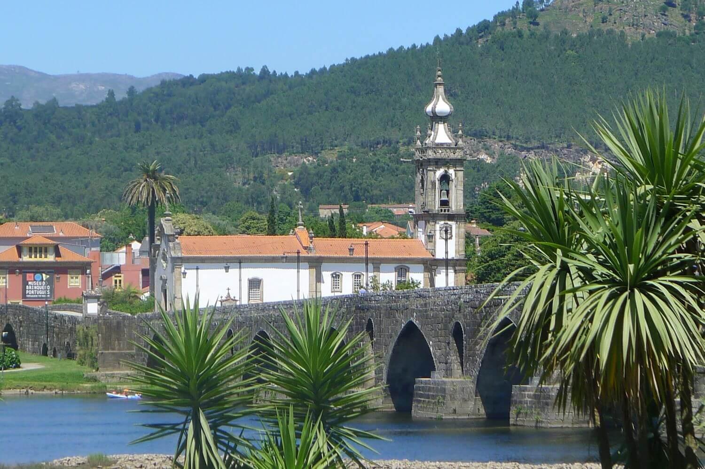 Most w Ponte de Lima, Minho Portugalia