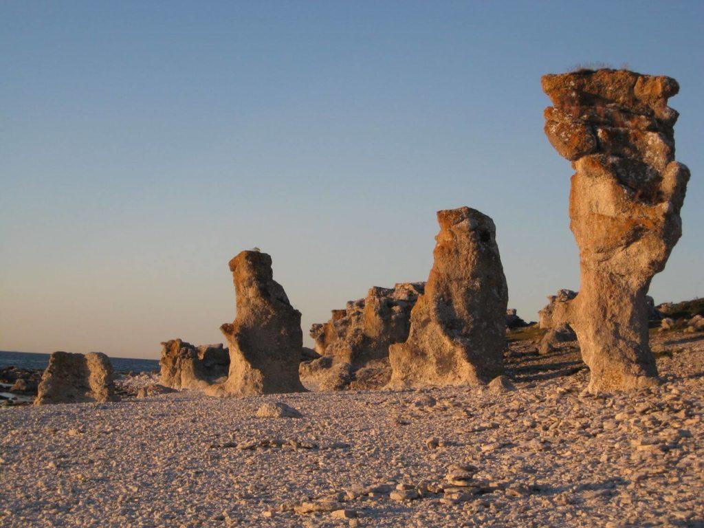Raukary Faro Gotlandia