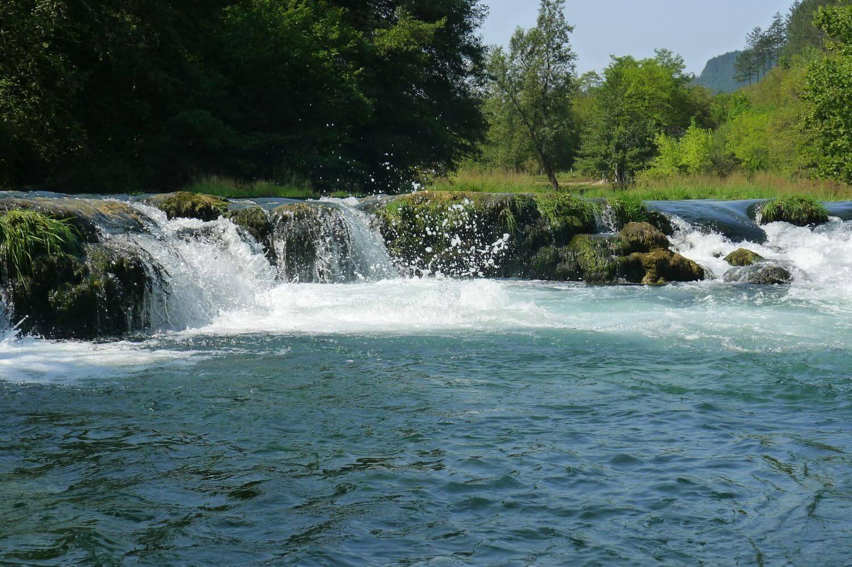 Rzeka Una Bośnia
