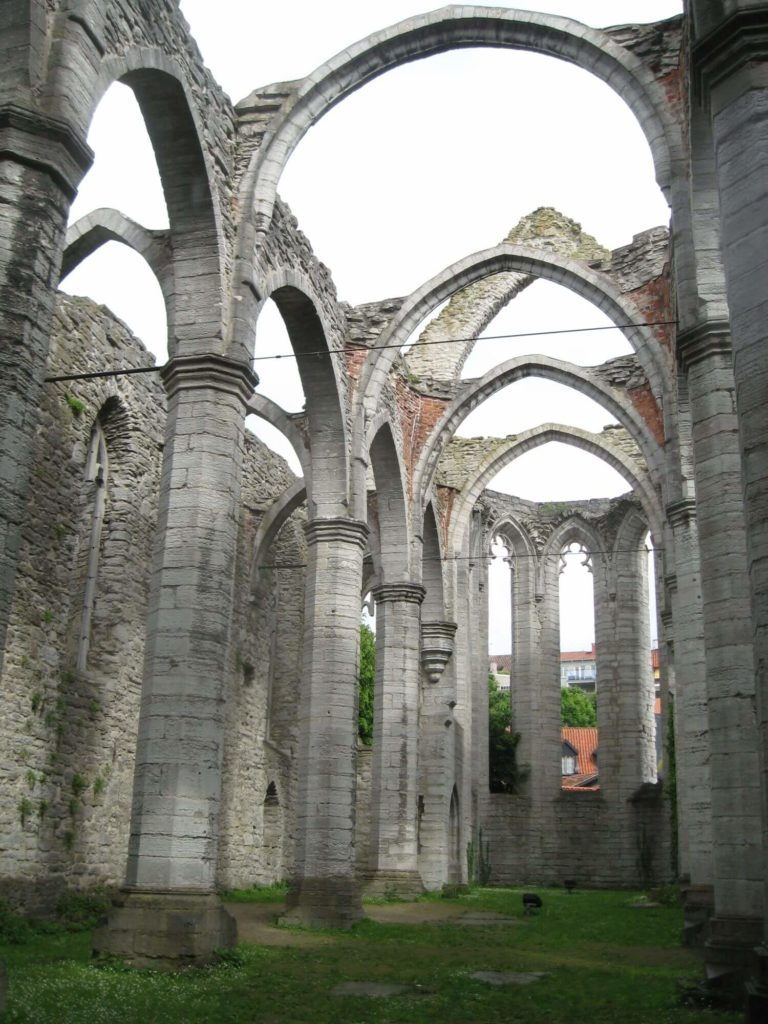 Ruiny kościła Św. Katarzyny Visby
