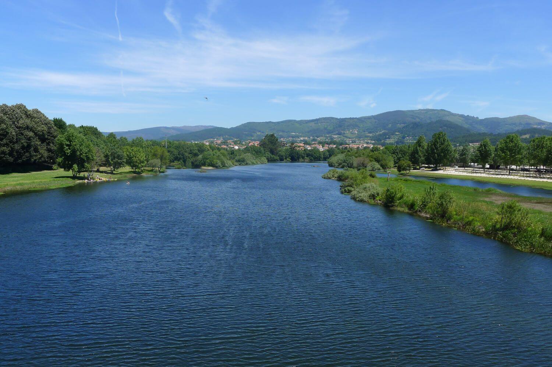 Rzeka Lima Minho Portugalia