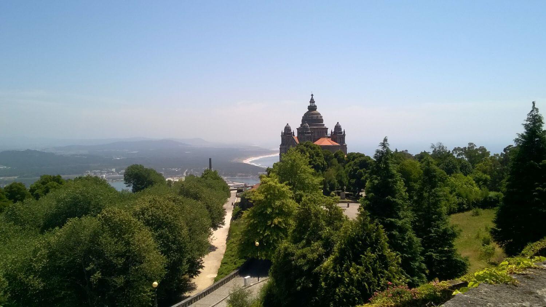 Bazylika de Santa Luzia Viano do Castelo Minho Portugalia