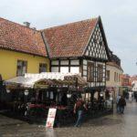 Placyk w Visby Gotlandia