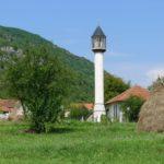 Minaret we wsi Dzijać