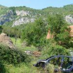 Wieś Dzijać Bośnia