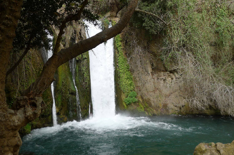 Wodospad Banias, Wzgórza Golan, Pólnocny Izrael