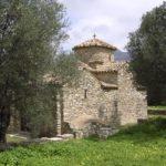 Stary kościółek spotkany gdziś w Dolinie Tragea na Naxos