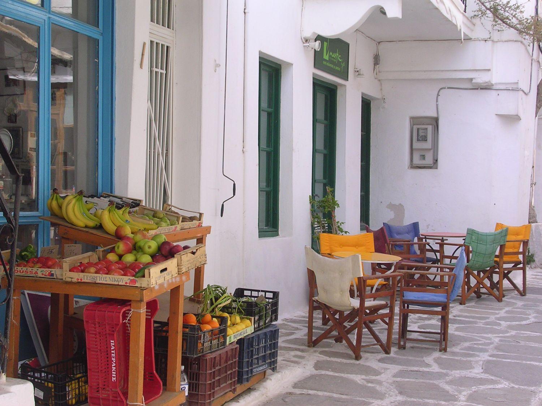 Restauracja na Paros, Cyklady
