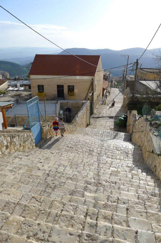 Safed Północny Izrael - widok na góry