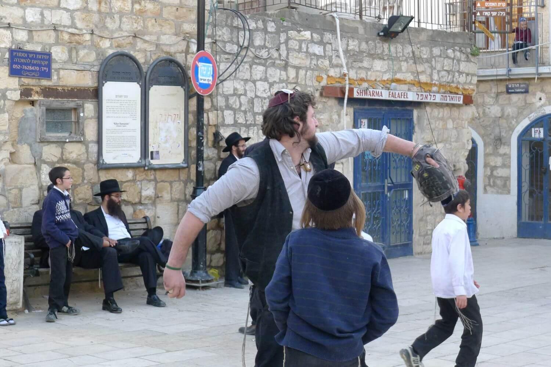 Podwókowy baseball w Safed, Pólnocny Izrael