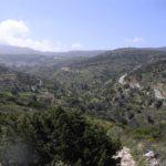 Piękny, zielony inetrior Paros, Cyklady