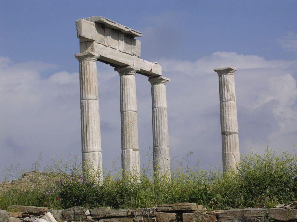 Świątynia na Delos