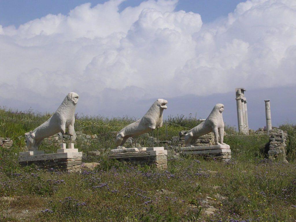 Ruiny na Delos, Cyklady