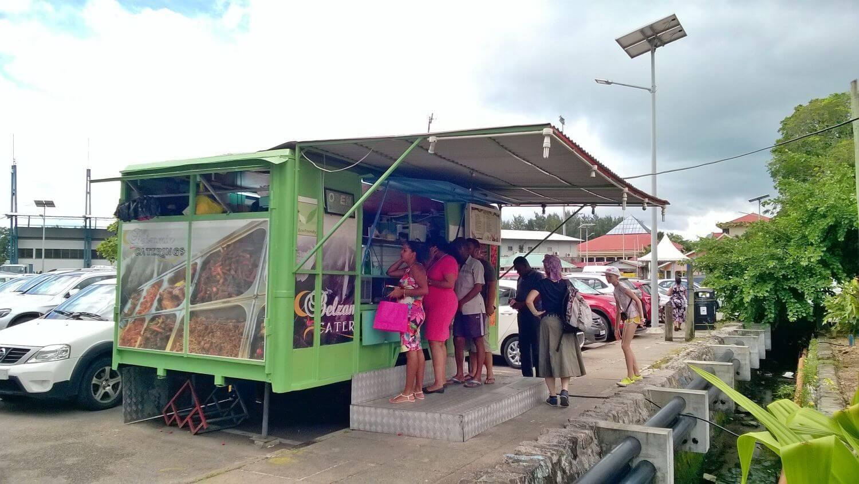 Street food na Mahe, Seszele