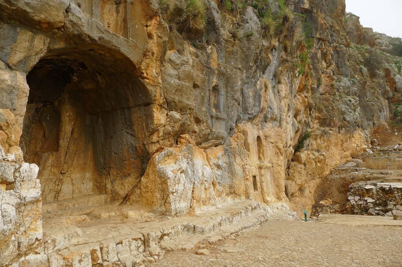 Sanktuarium Pana, Wzgórza Golan Północny Izrael