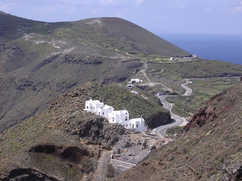 Domki na kalderze, Santorini