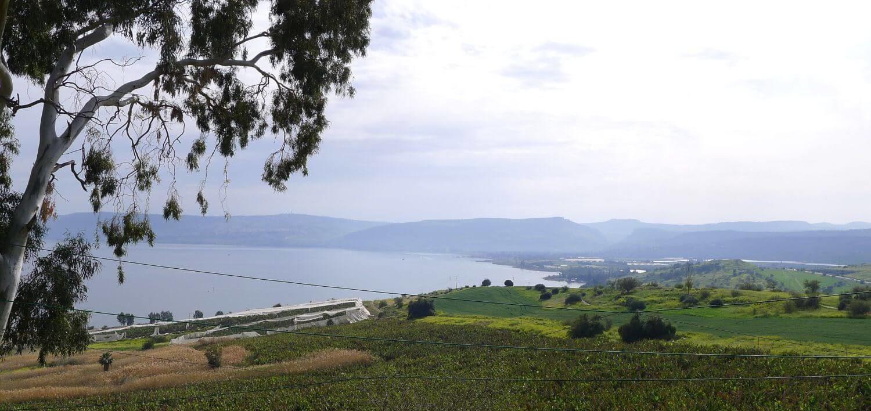Jeziora Galilejskie, Północny Izrael