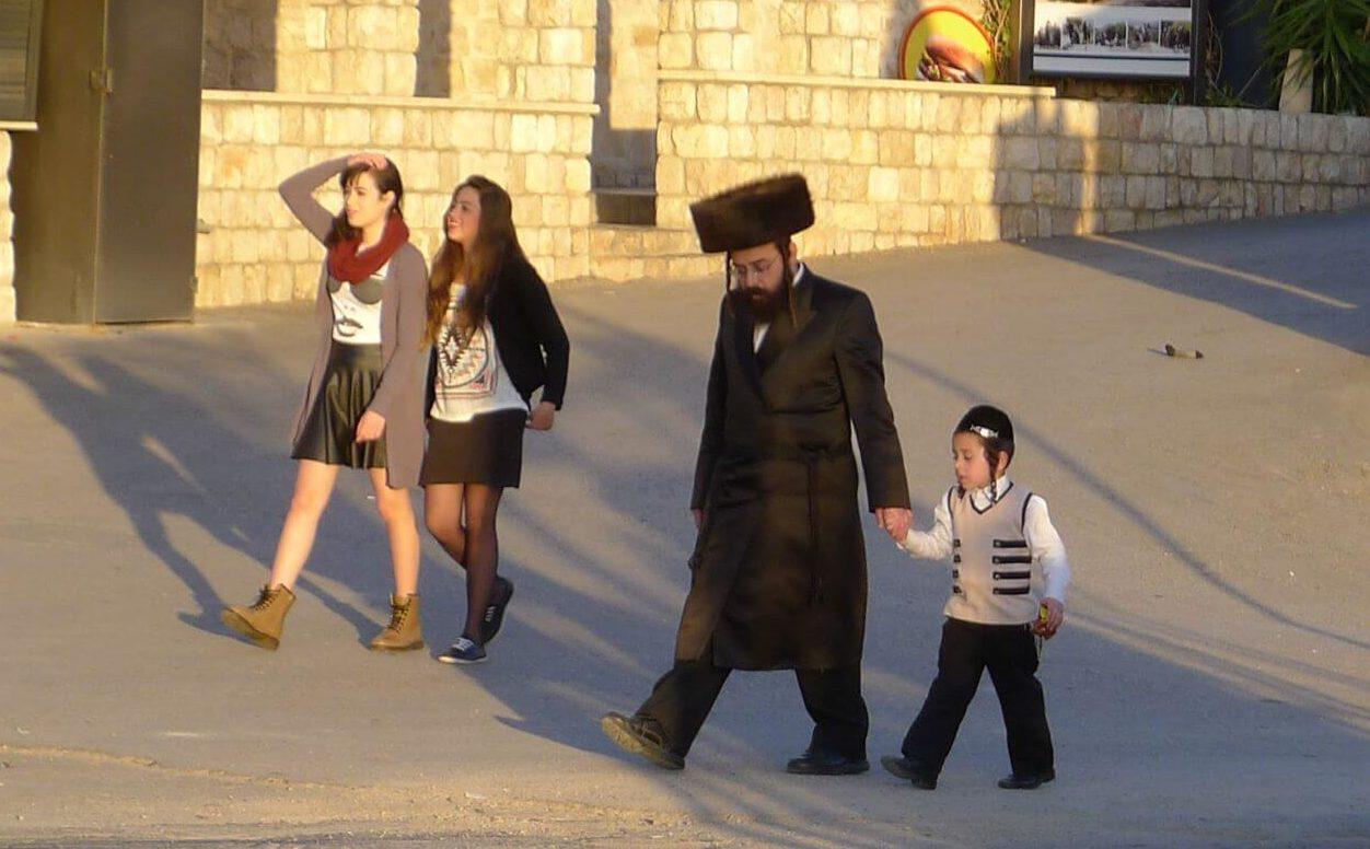 Ullice Safed w szabas