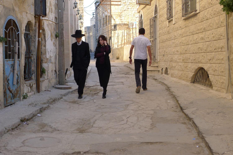 W szabas ulice Safed toną w spokoju