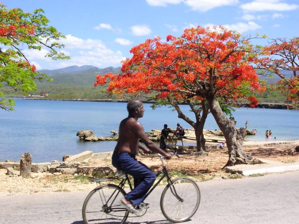 Kąpielisko w La Boca, Trinidad Kuba