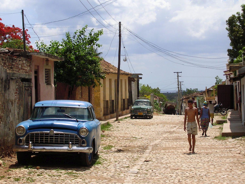Brukowane uliczki, Trinidad Kuba