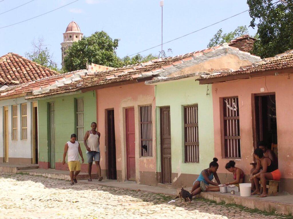 Życie codzienne Trinidad Kuba